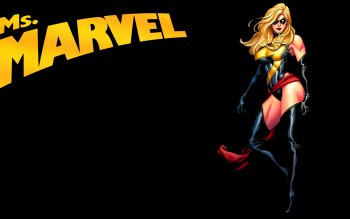 Ms. Marvel Wallpaper