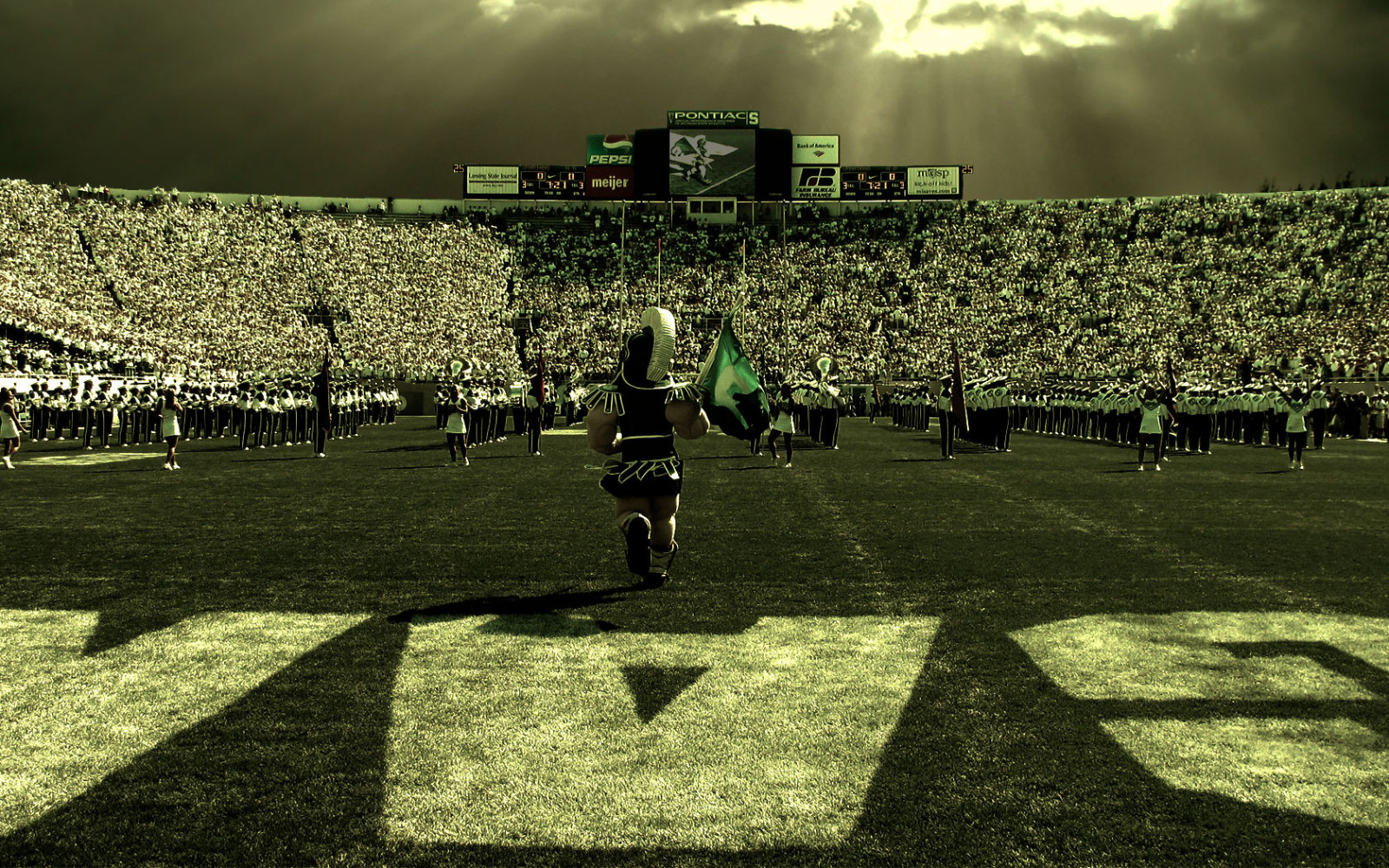 Msu Football Wallpaper