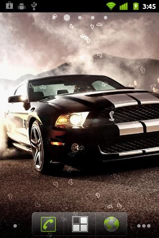 Exceptionnel Muscle Car Live Wallpaper