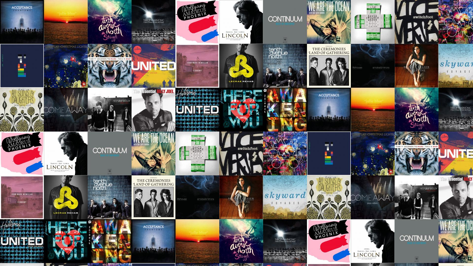 Music Collage Wallpaper