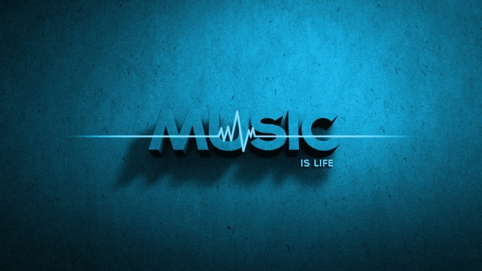 Music Is Life Wallpaper