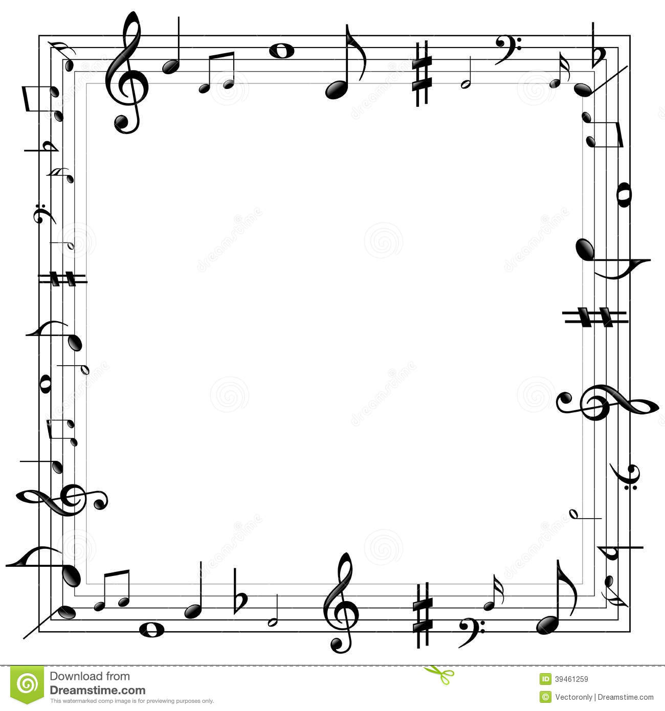 Musical Wallpaper Borders: Download Music Notes Wallpaper Border Gallery
