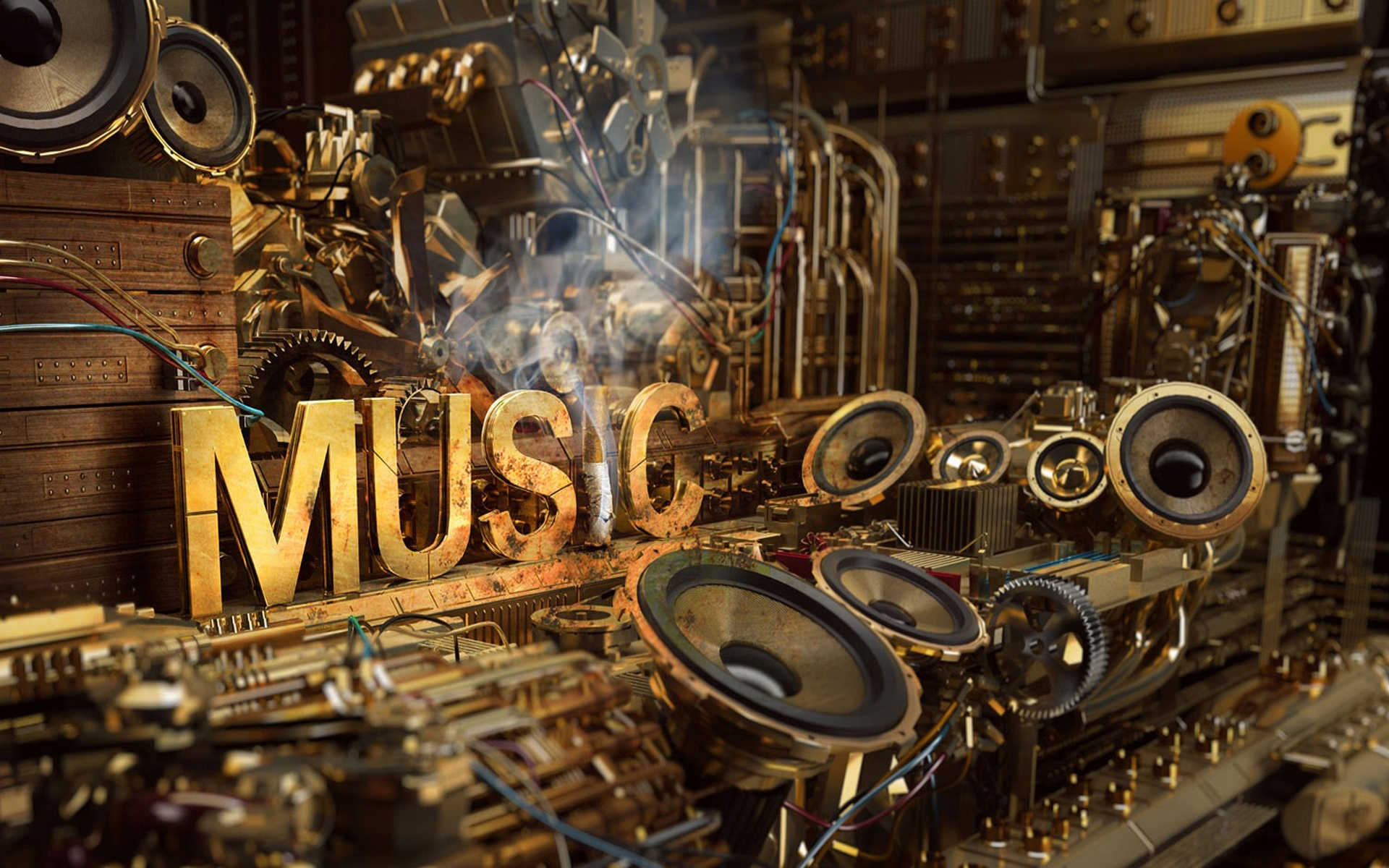 Music Production Wallpaper