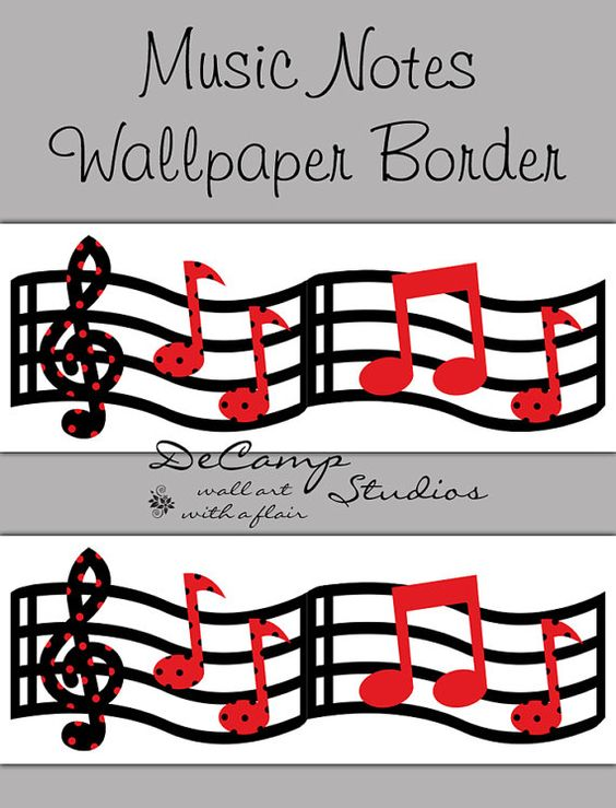 Music Wallpaper Border