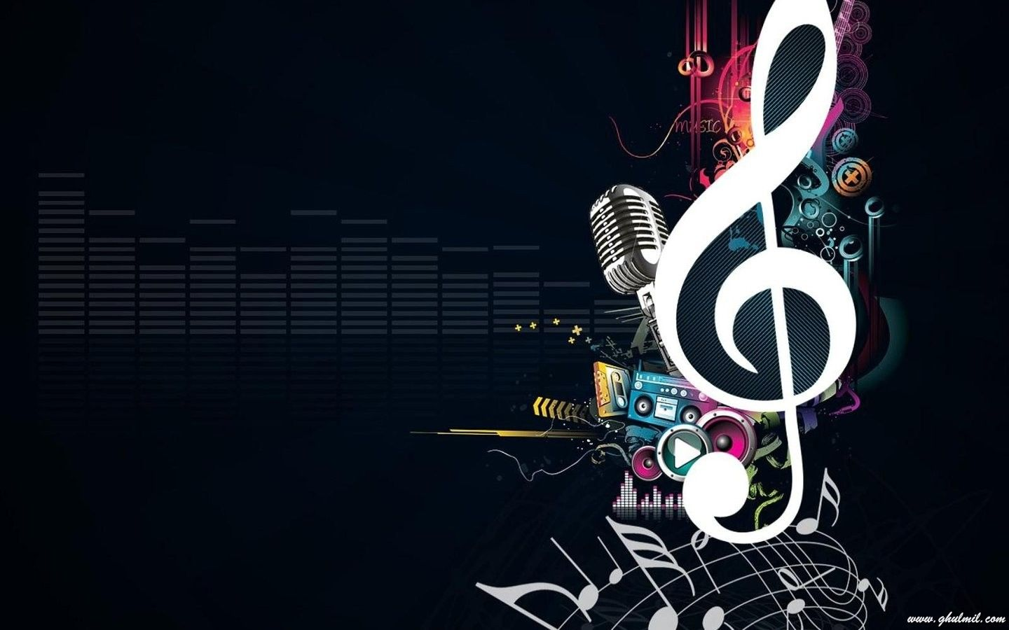 Music Wallpaper Desktop