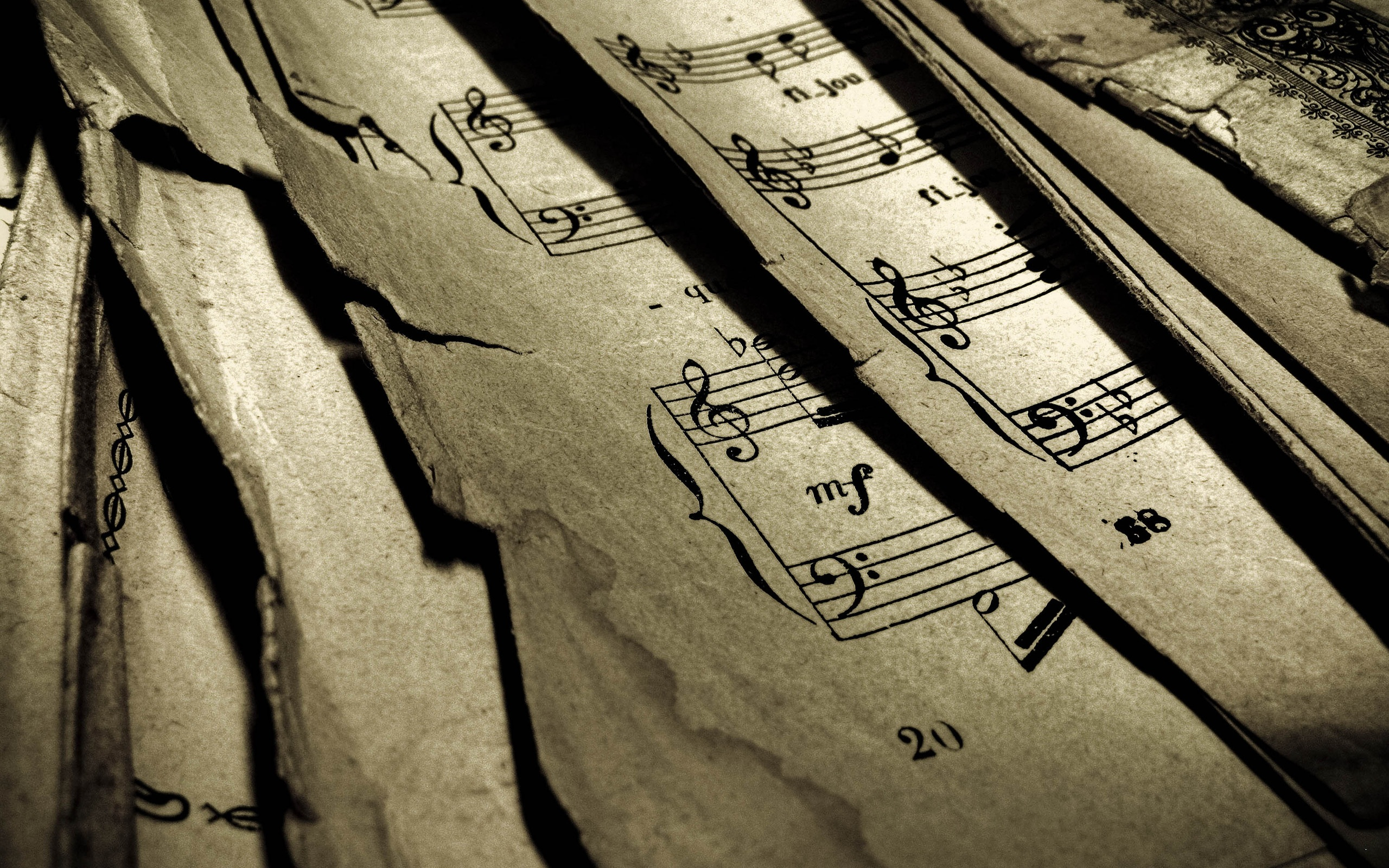 Musical Notes Wallpaper