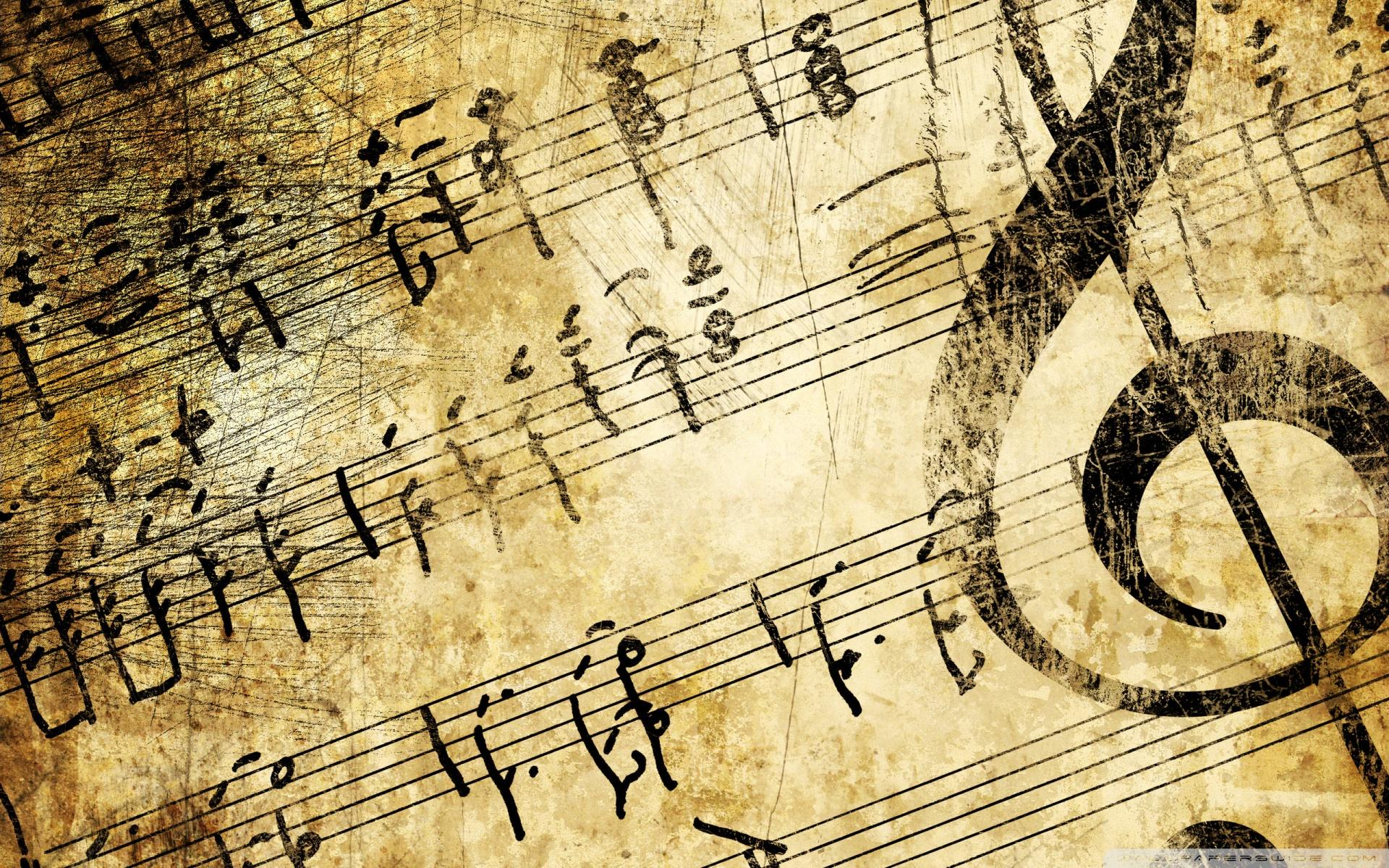 Download Musical Notes Wallpapers Gallery