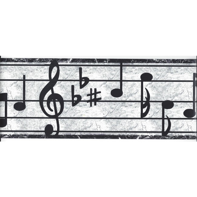 Musical Wallpaper Border