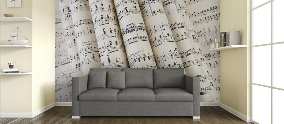 Musical Wallpaper For Walls