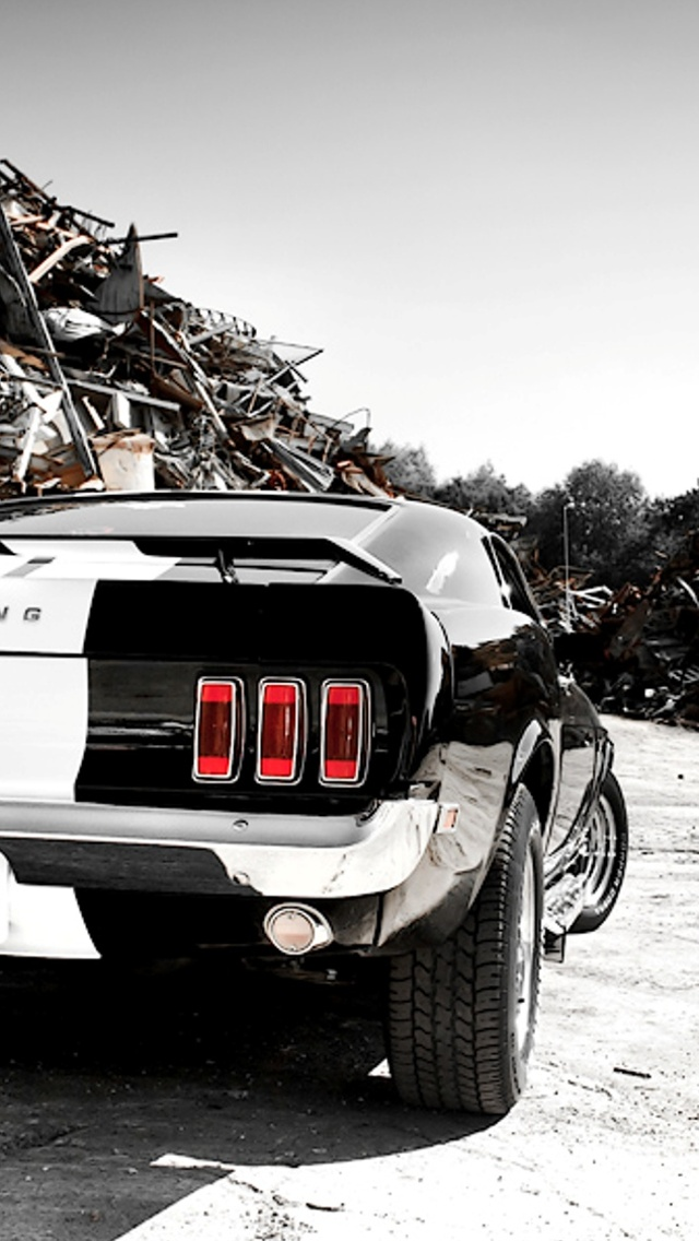 Mustang Iphone Wallpaper