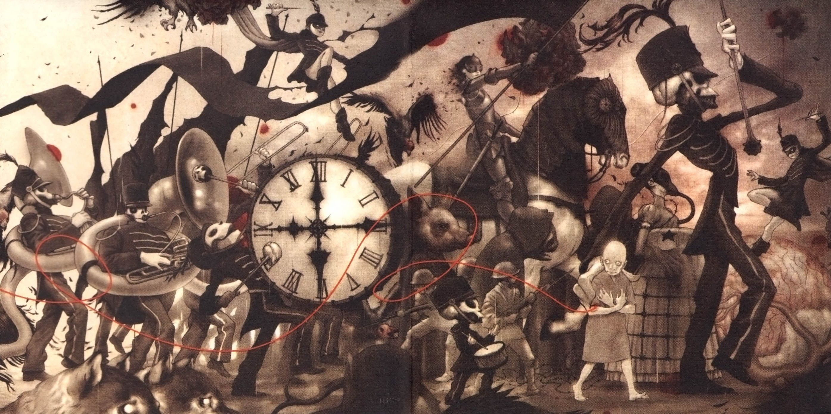 Download My Chemical Romance The Black Parade Wallpaper