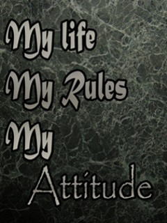 Download My Life My Rules My Attitude Wallpapers HD Gallery |My Life My Rules Wallpapers For Girls For Fb