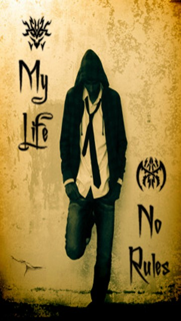 My Life My Rules My Attitude Wallpapers HD