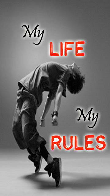 My Life My Rules Facebook Cover - fbCoverLover.com |My Life My Rules Wallpapers For Girls For Fb