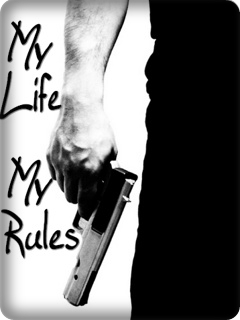 my life my rules Name Cover for Facebook |My Life My Rules Wallpapers For Girls For Fb