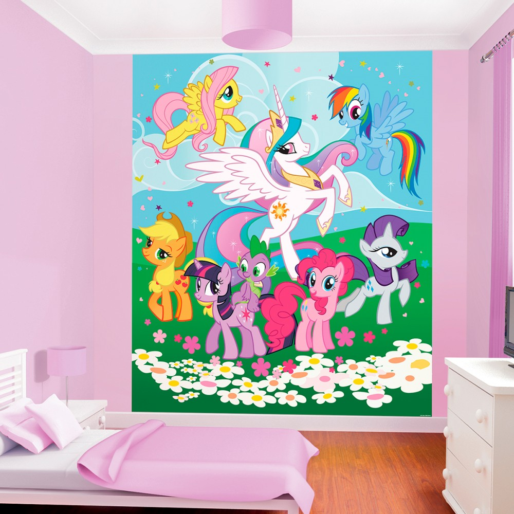 My Little Pony Bedroom Wallpaper