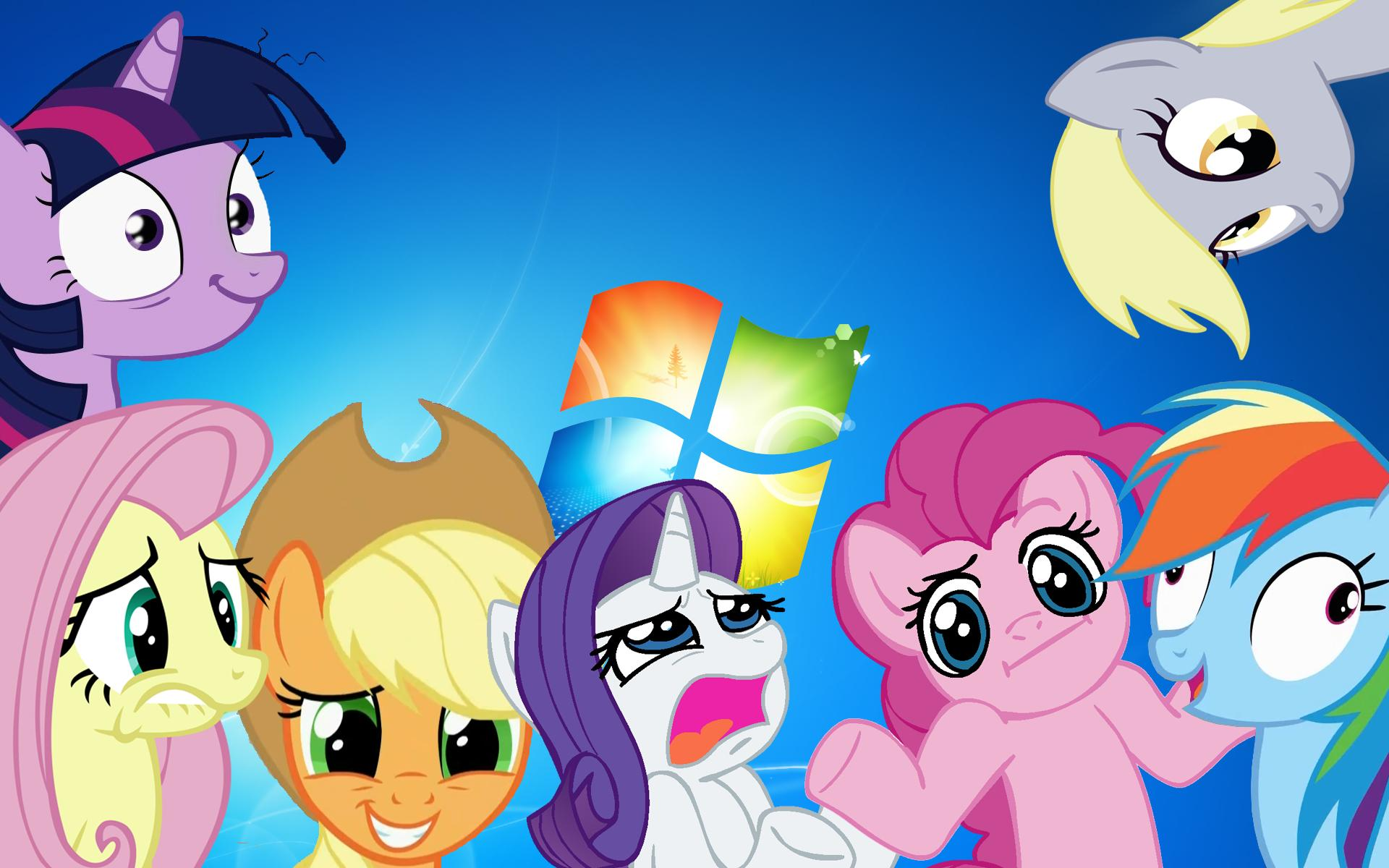 My Little Pony Desktop Wallpaper