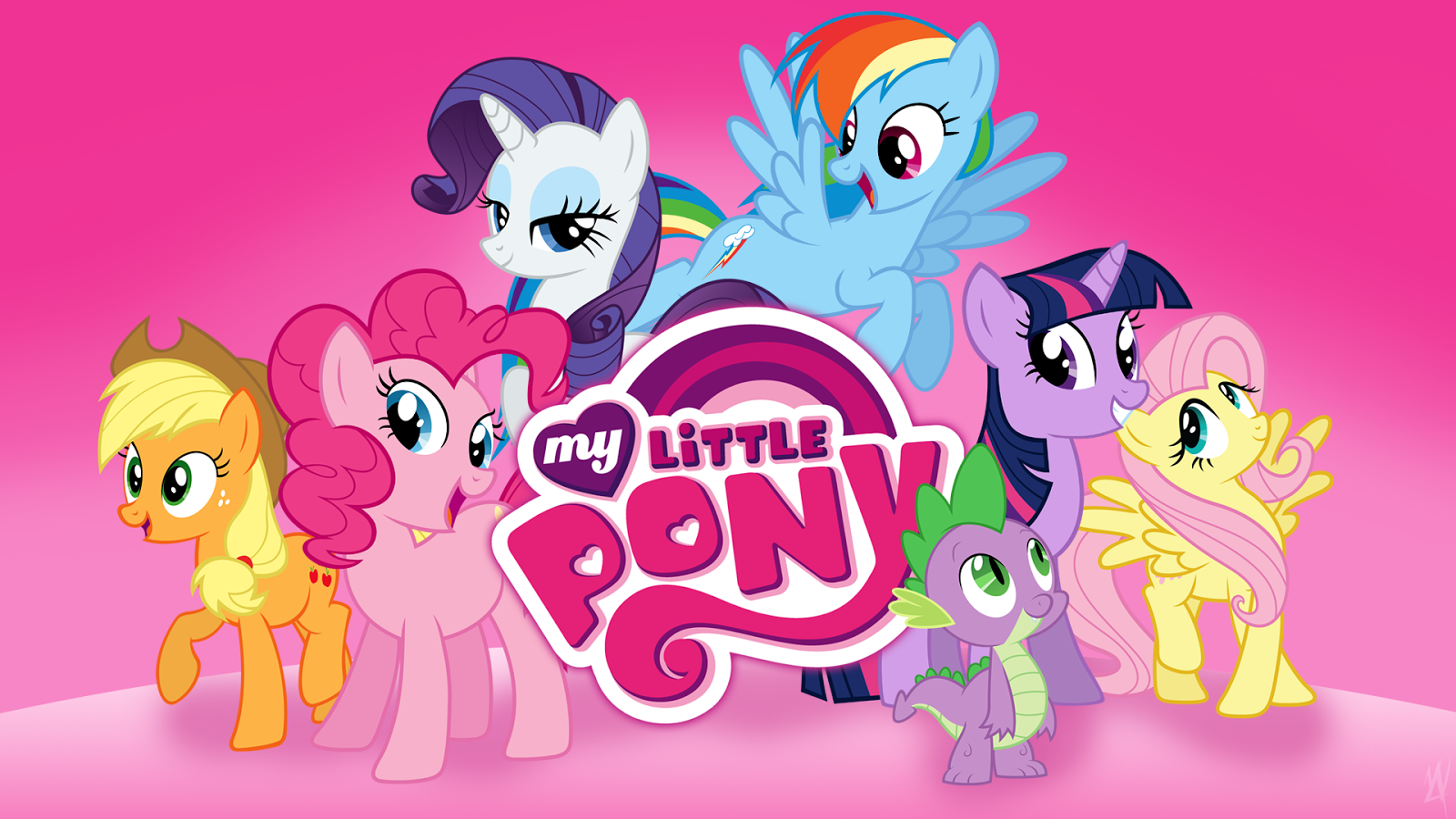 My Little Pony Friendship Is Magic Desktop Wallpaper