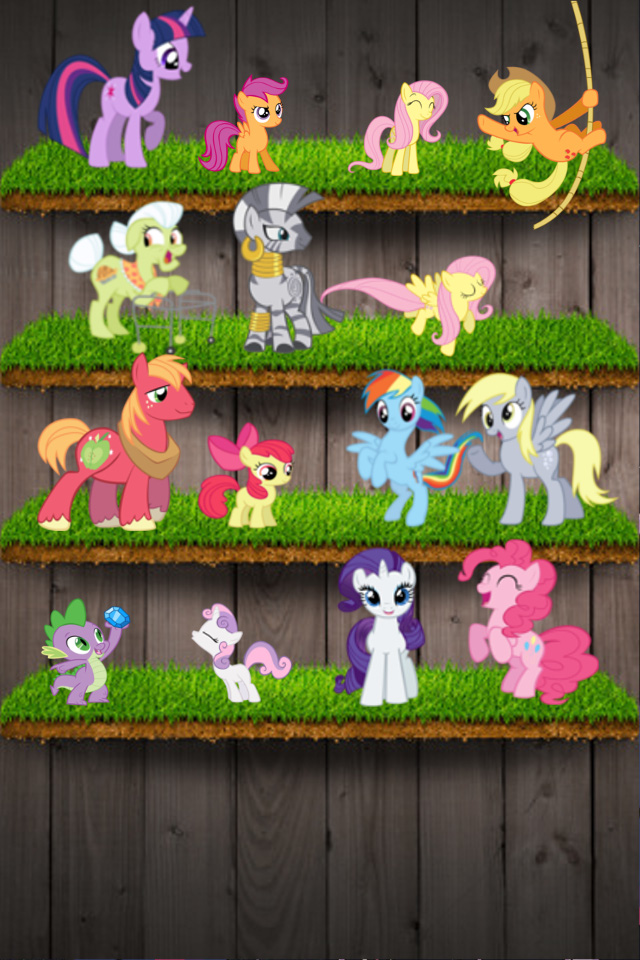 My Little Pony Iphone Wallpaper