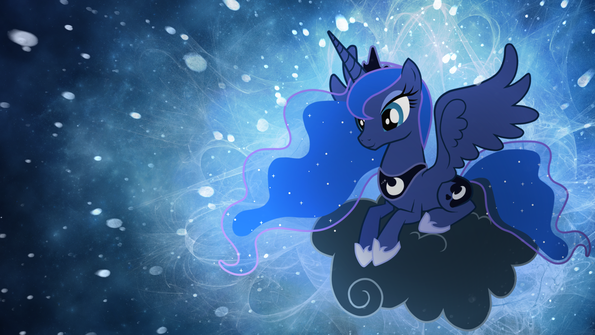 My Little Pony Luna Wallpaper
