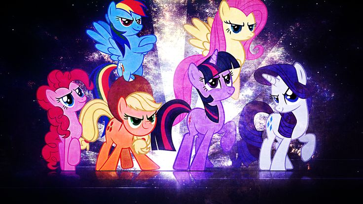 android mane 6 wallpaper - photo #46