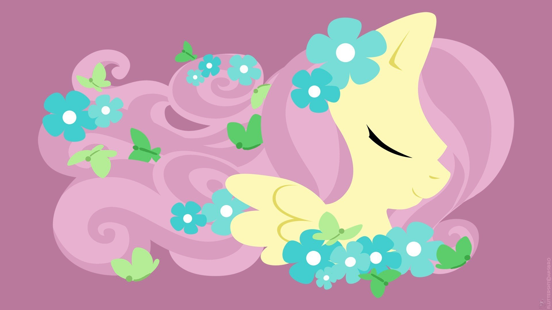 my little pony fluttershy wallpaper wwwpixsharkcom