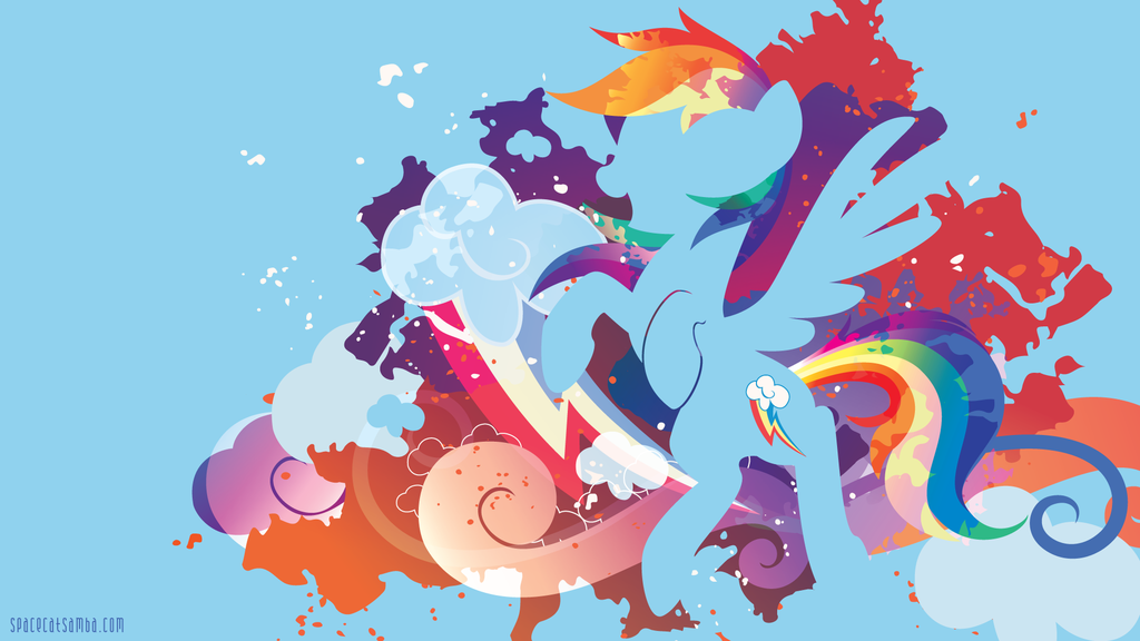 My Little Pony Wallpaper Rainbow Dash