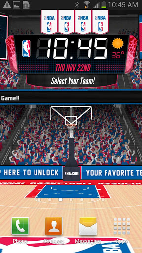 NBA 3D Live Wallpaper Apk