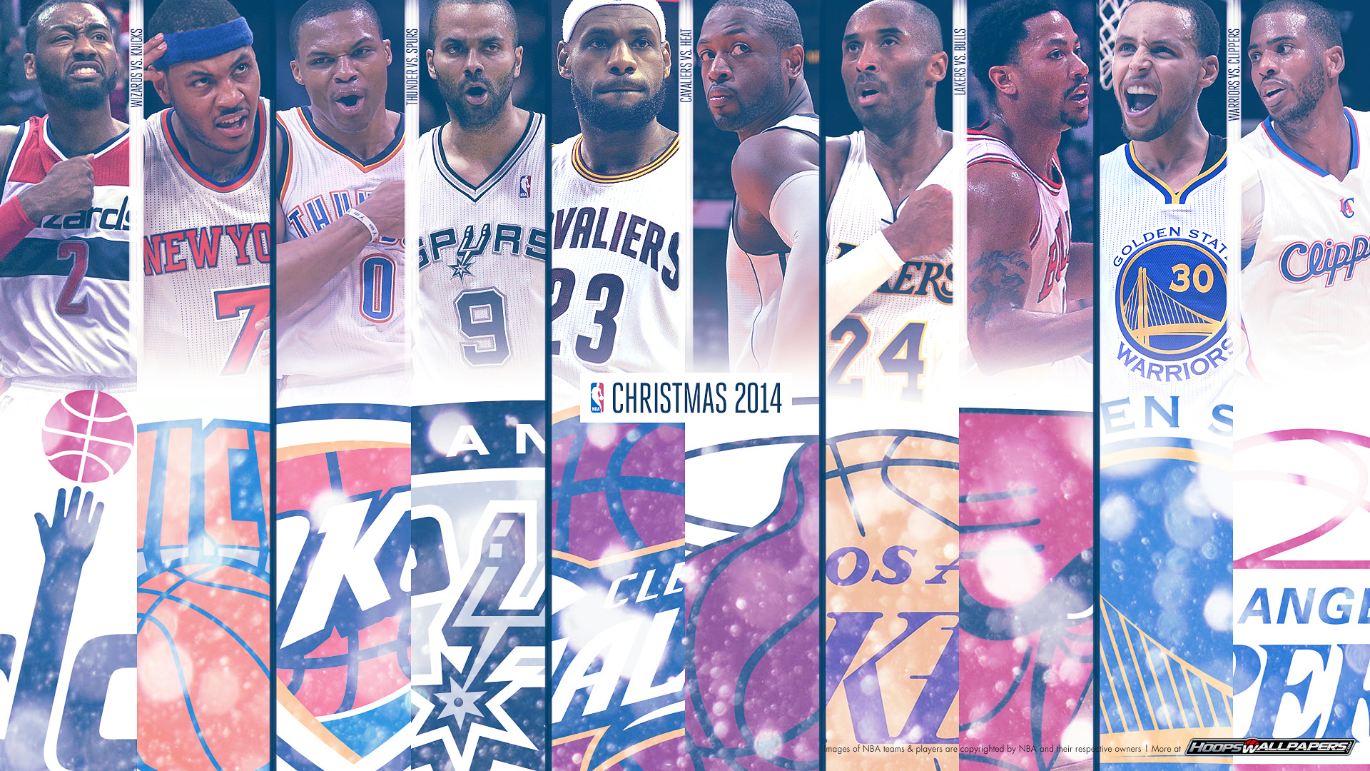 NBA Christmas Wallpaper