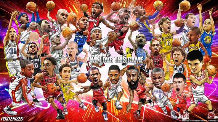 NBA Legends Wallpaper