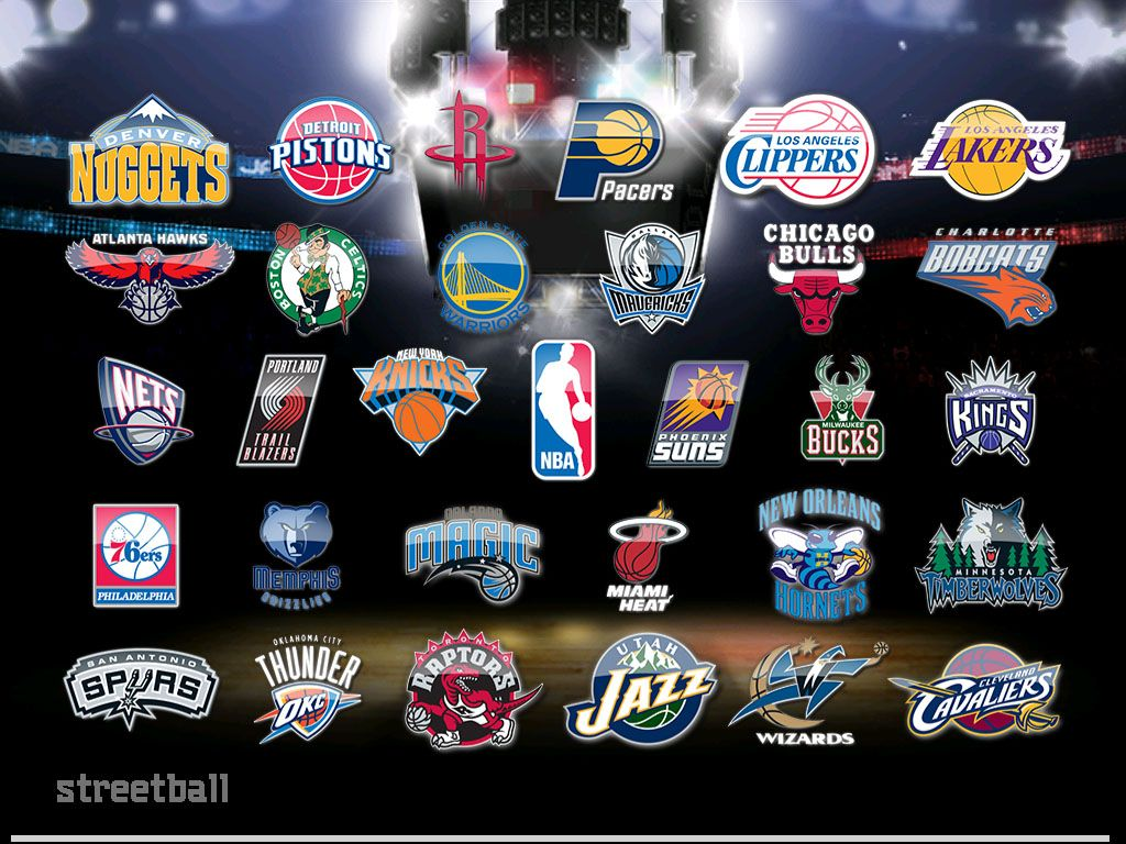 NBA Logos Wallpaper