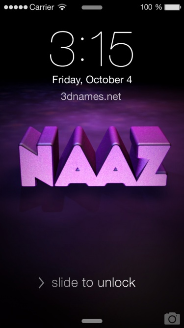 Naaz Name Wallpaper