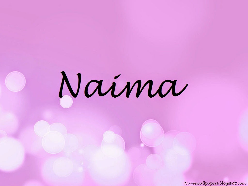 Naima Name Wallpaper