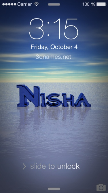 Name Nisha Wallpaper