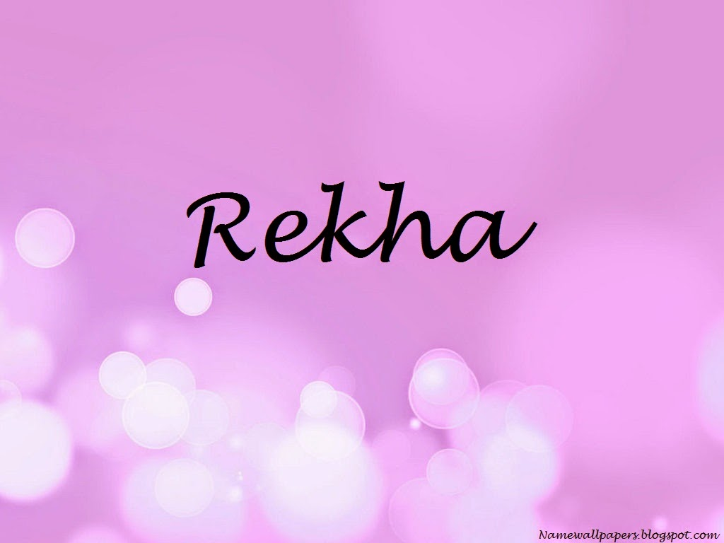 Name Rekha Wallpaper