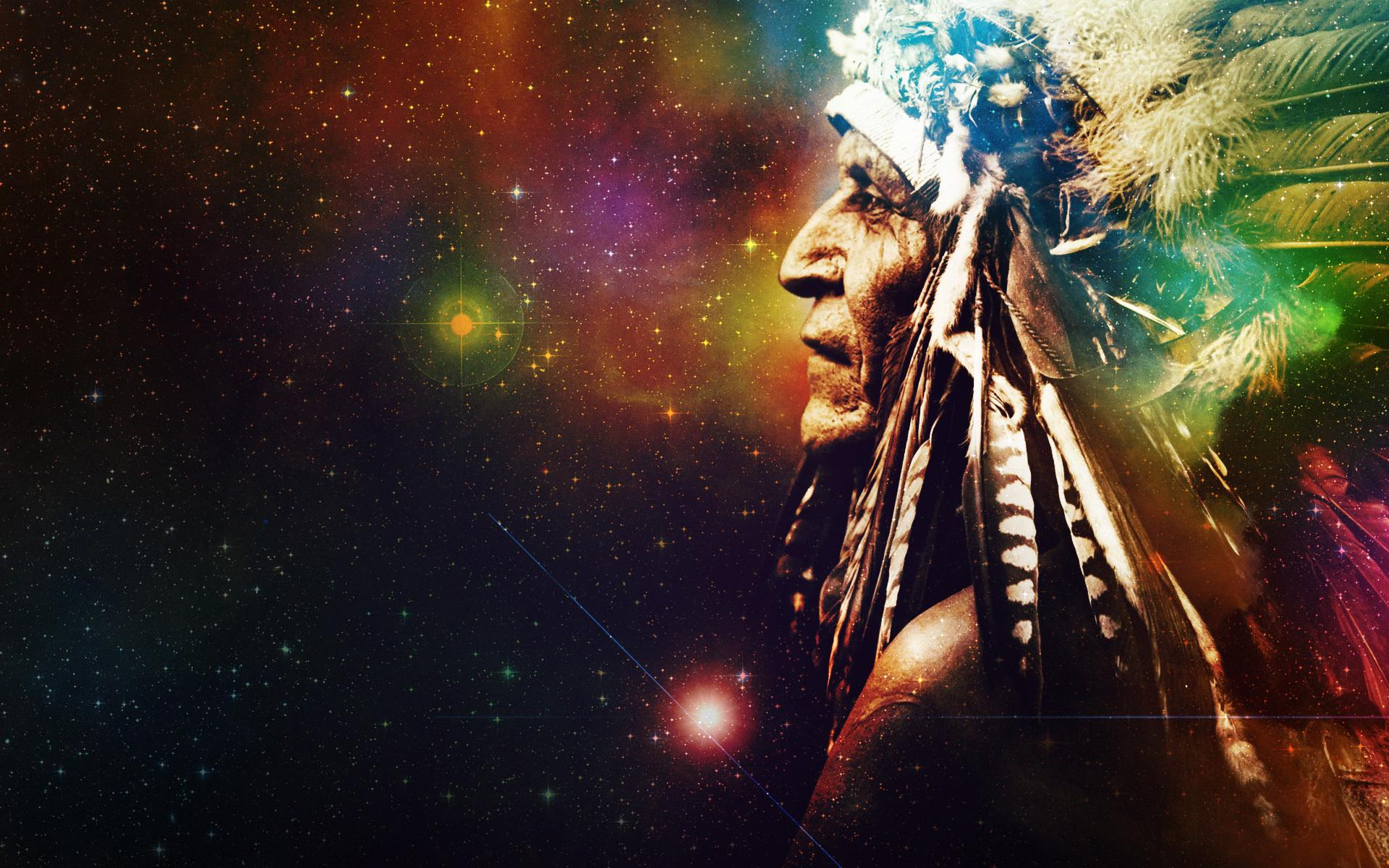 Native American Chief Wallpaper