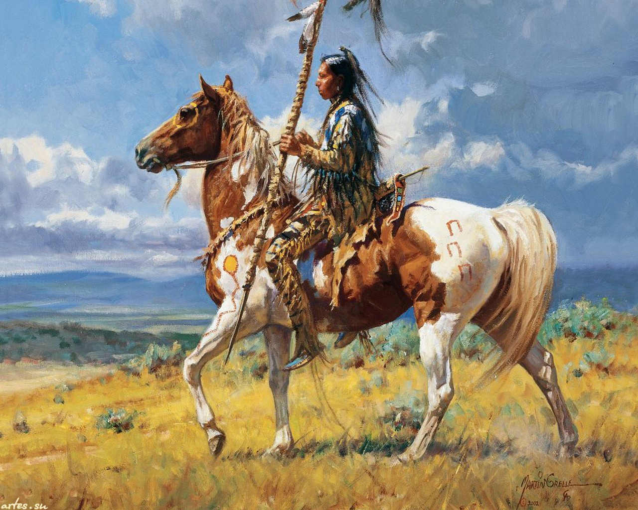 Native American Indian Wallpaper