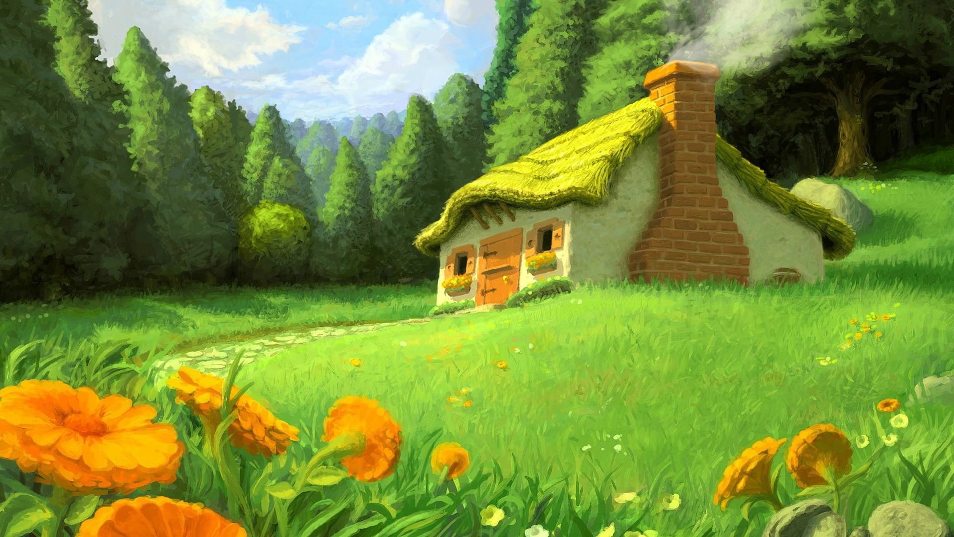 Nature Wallpaper Cartoon