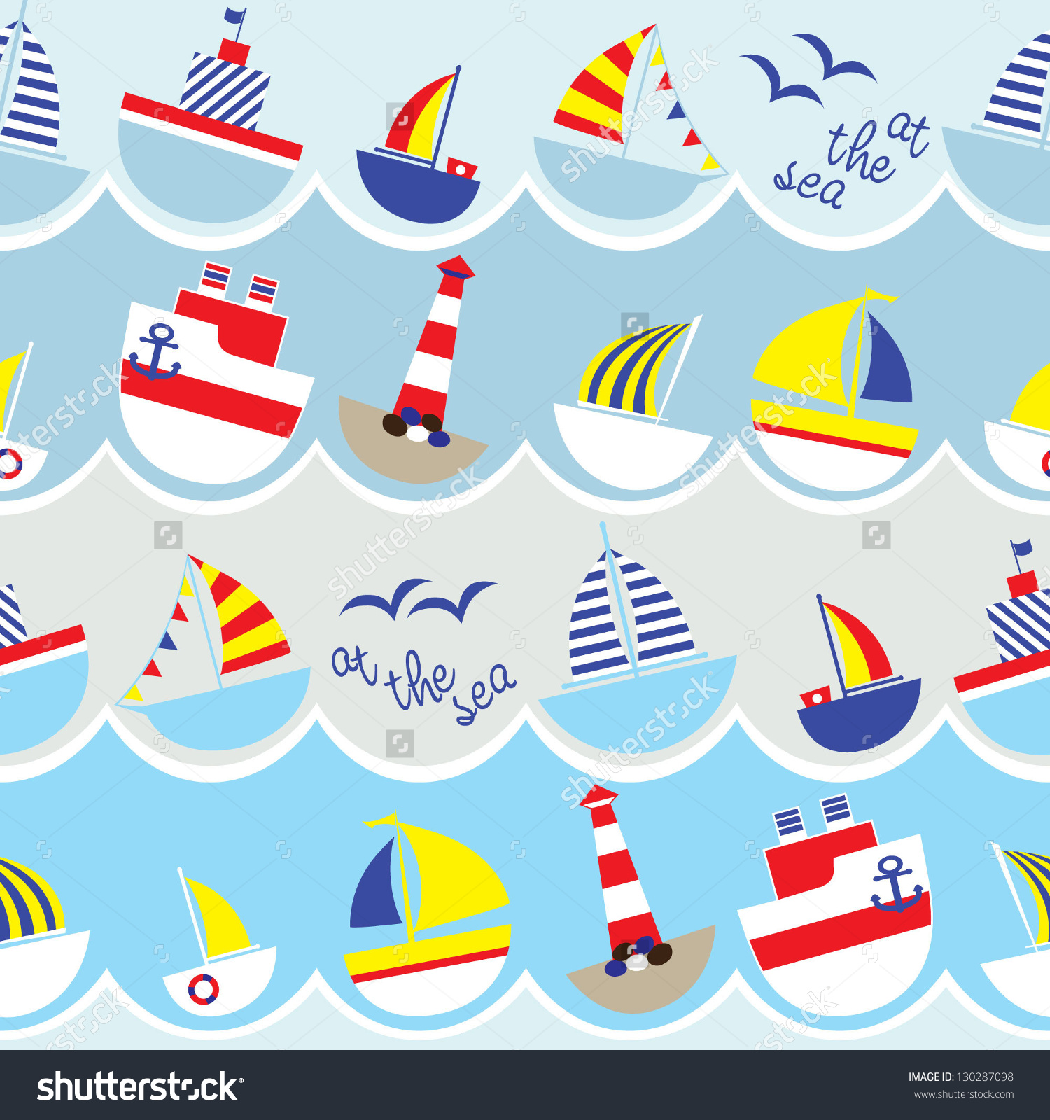 Nautical Wallpaper For Kids