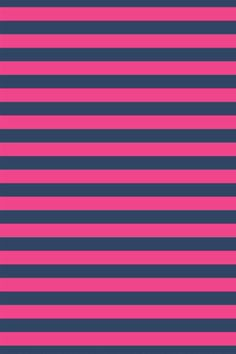 Navy Blue And Pink Striped Wallpaper