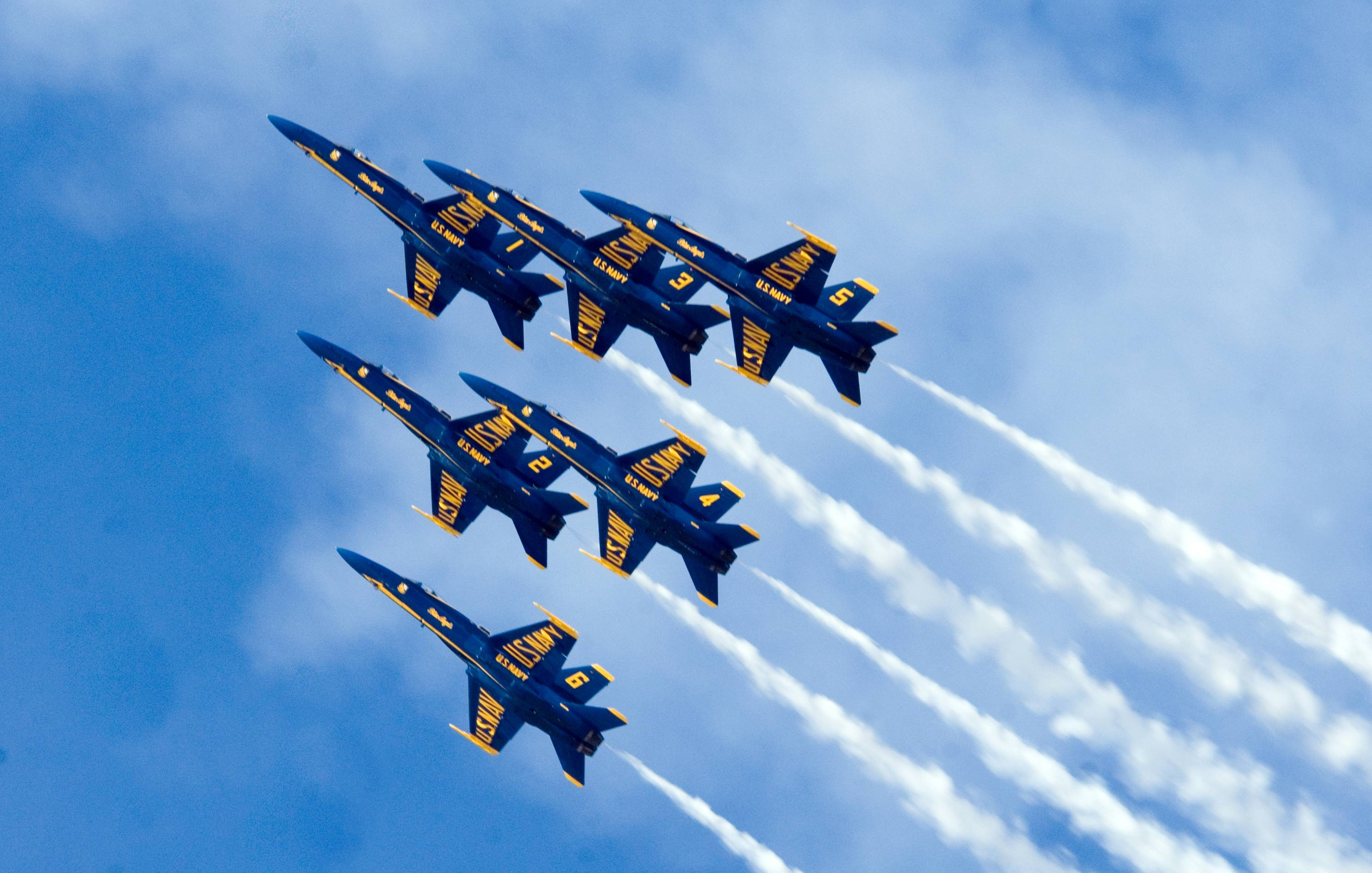 Navy Blue Angels Wallpaper