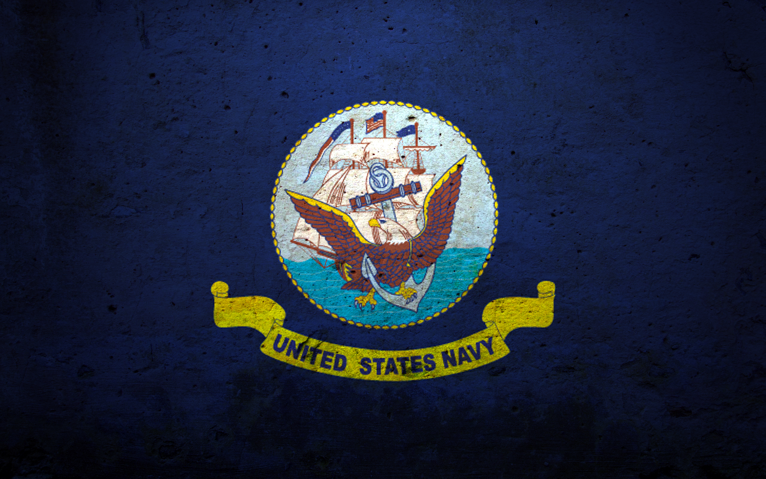 Navy Logo Wallpaper