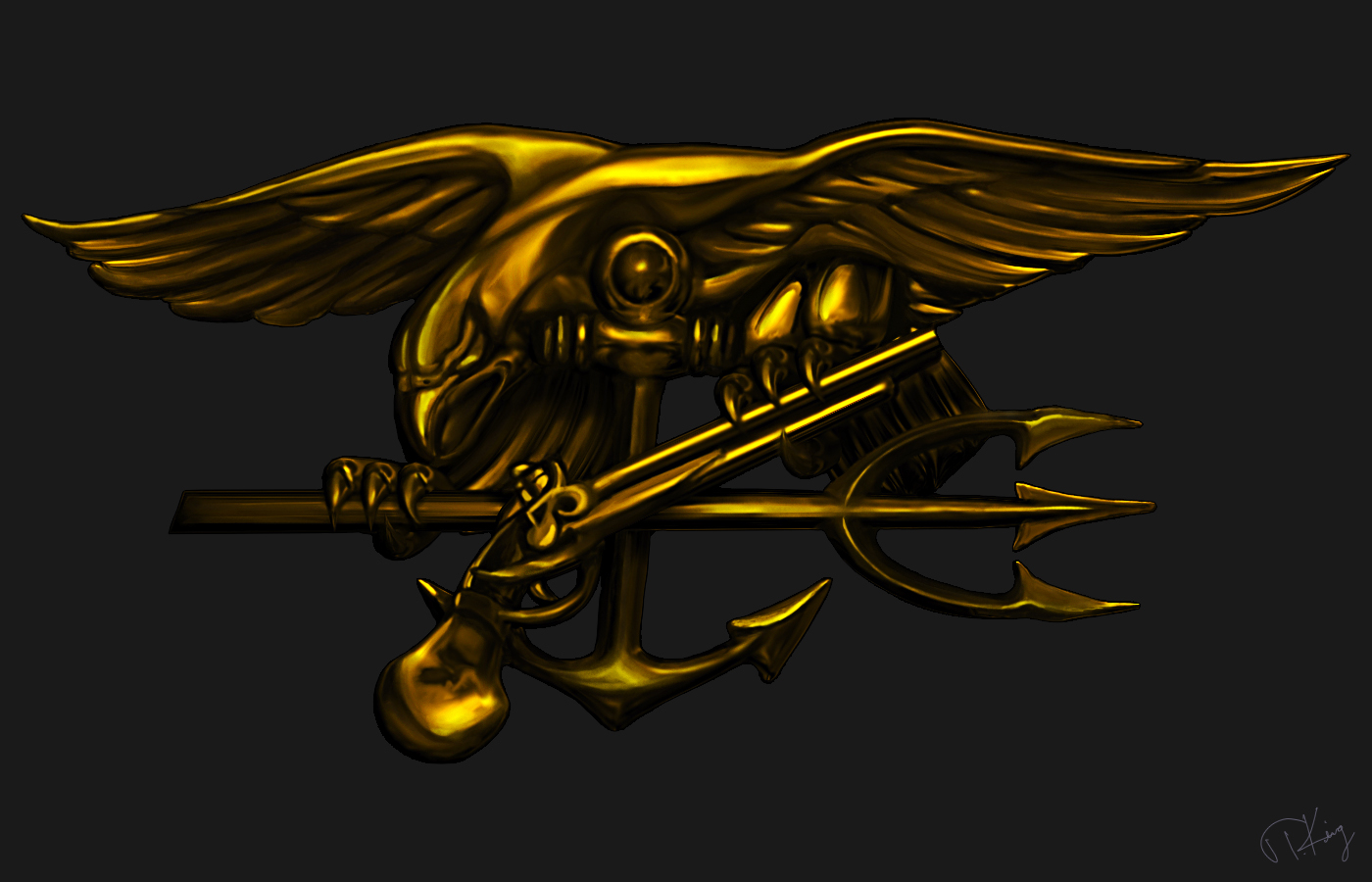 Navy seal trident phone wallpaper