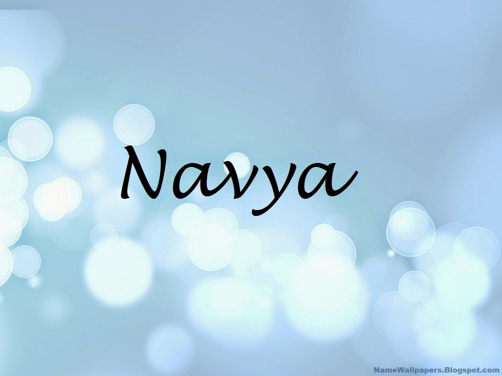 Navya Name Wallpapers