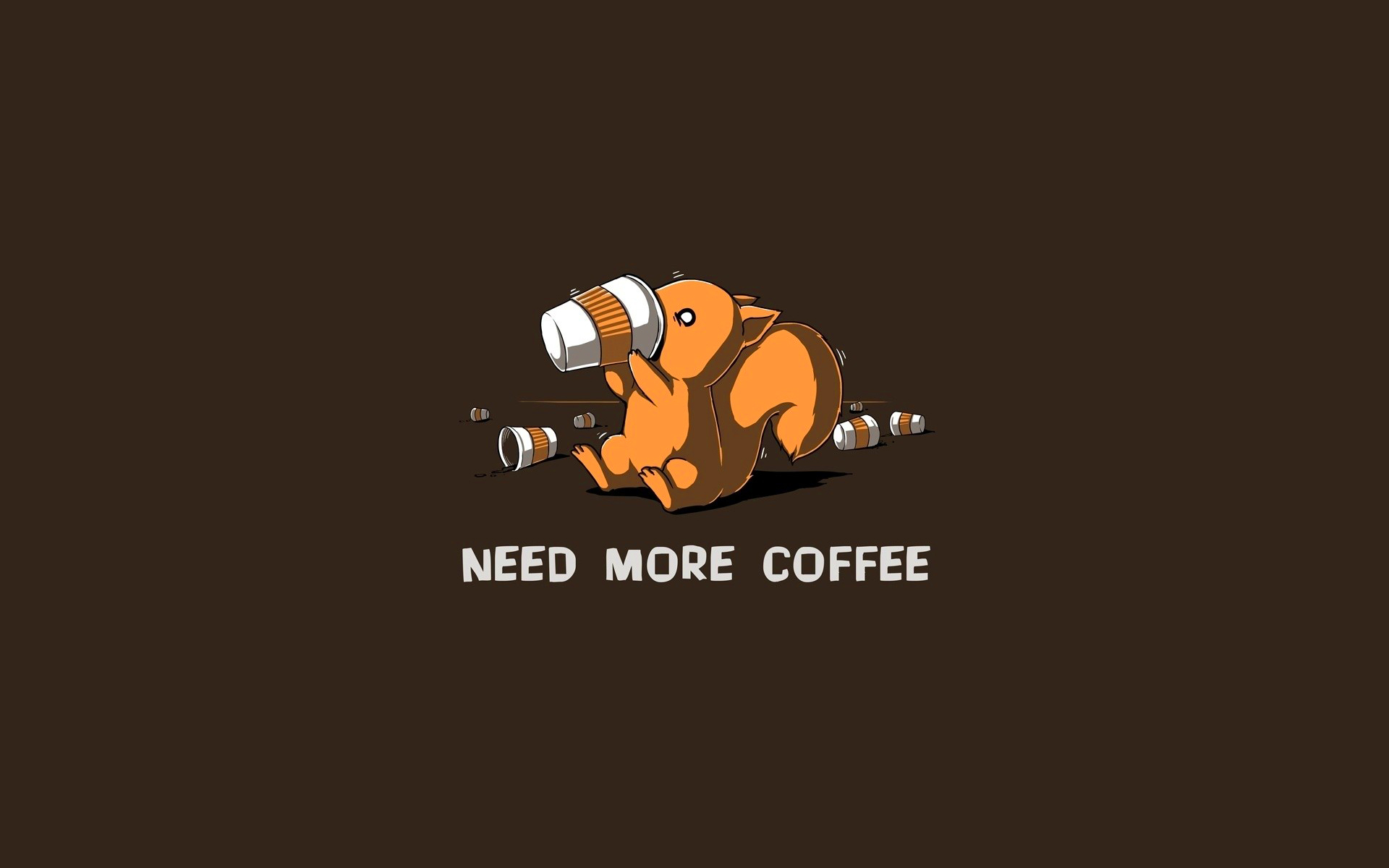 Need More Coffee Wallpaper