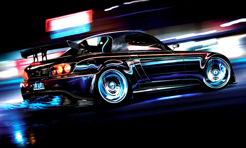 Download Neon Car Wallpapers Gallery