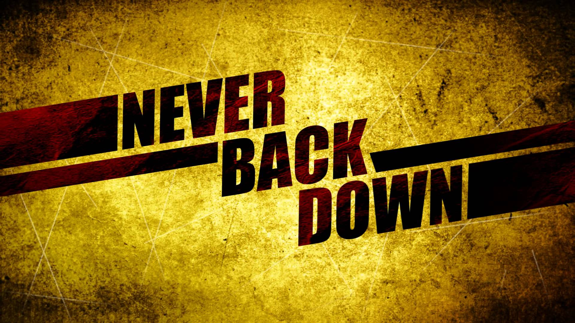 Never Back Down HD Wallpapers