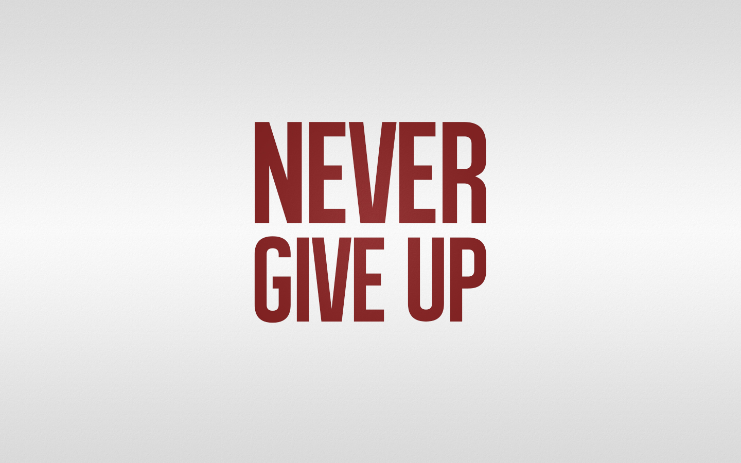 never give up Relentless determination to overcome life's challenges by joyce meyer joyce meyer is probably better equipped than anyone when it comes to never giving up she overcame an abused childhood, a bad marriage and extremely limited opportunities to become one of the most popular author/speakers in the world.