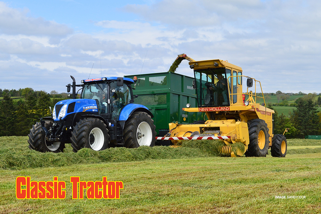 New Holland Tractor Wallpaper