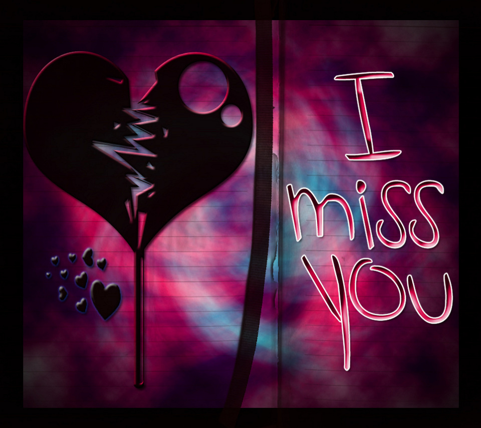 New I Miss U Wallpaper
